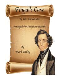 Fingal's Cave for Sax Quartet