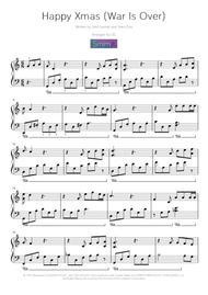 I Want A Hippopotamus For Christmas Sheet Music Free Pdf.Happy Xmas War Is Over By John Lennon Digital Sheet