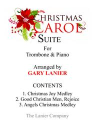 CHRISTMAS CAROL SUITE (Trombone and Piano with Score & Parts)