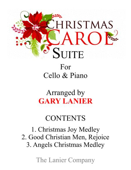CHRISTMAS CAROL SUITE (Cello and Piano with Score & Parts)