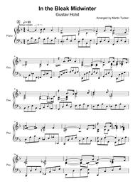 In the Bleak Midwinter lyrical jazz ballad