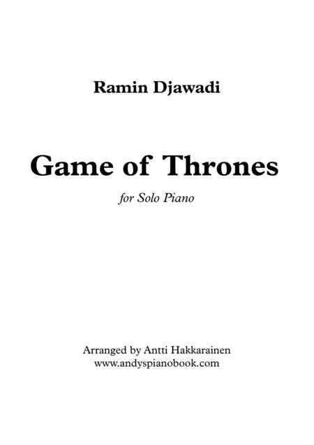 Game Of Thrones - Solo Piano