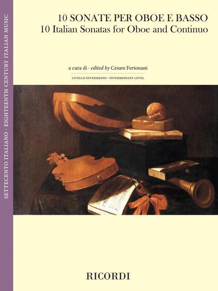 10 Italian Sonatas for Oboe and Continuo