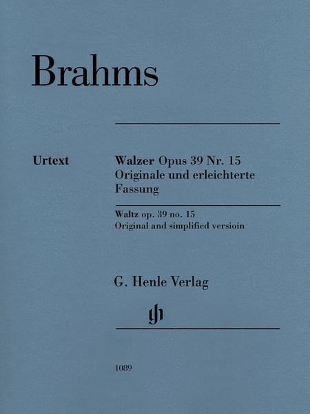 Waltz Op. 39 No. 15