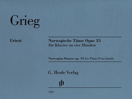 Norwegian Dances, Op. 35 (1 Piano, 4 Hands)