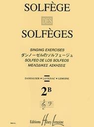 Solfege des Solfeges - Volume 2B sans accompagnement