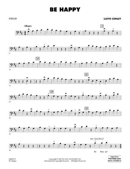 Be Happy - Cello