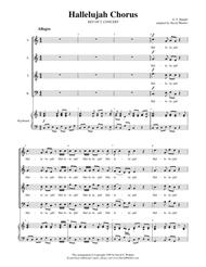 Hallelujah Chorus (SATB, key of C)