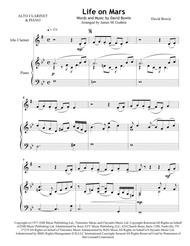 David Bowie: Life On Mars for Alto Clarinet & Piano