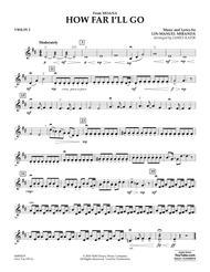 Sheetmusic How Far Ill Go From Moanapvg Alessia