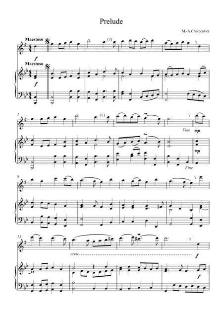 Prelude (alto saxophone)