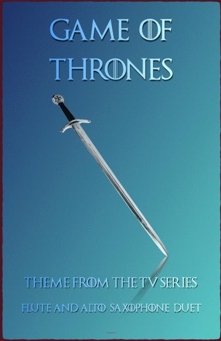Game Of Thrones Theme, Duet for Flute and Alto Saxophone