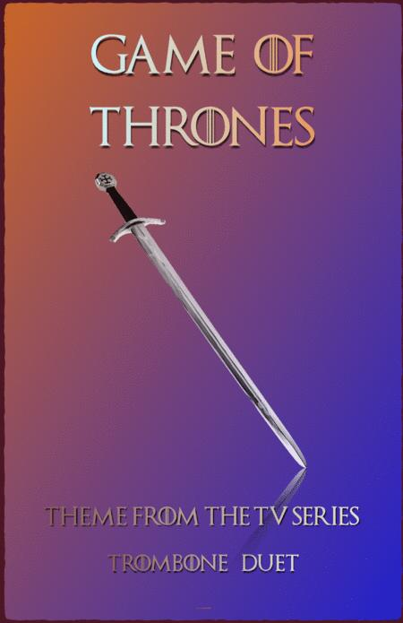 Download Game Of Thrones Theme, Trombone Duet Sheet Music By