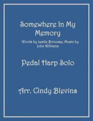 Somewhere In My Memory, arranged for Pedal Harp