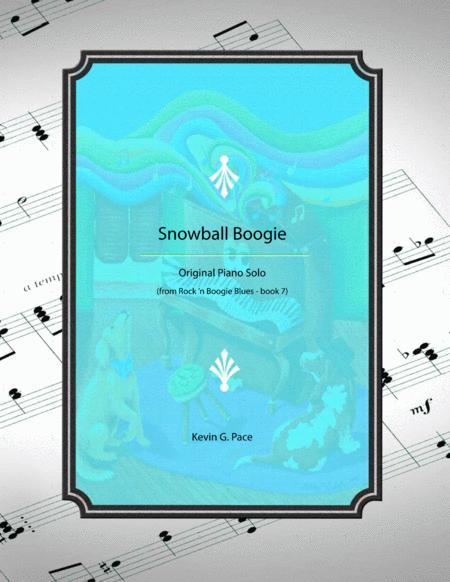 Snowball Boogie - original piano solo