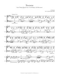 Borodin Nocturne (for Violin/Cello Duo)