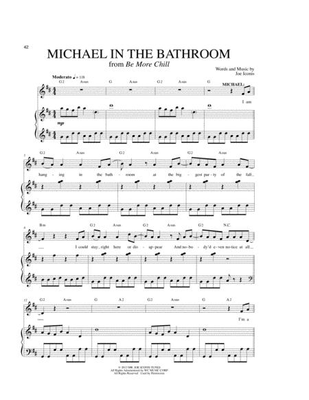 Michael In The Bathroom