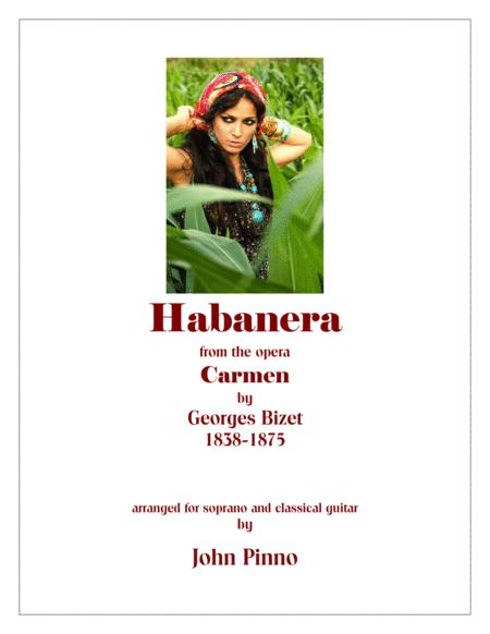 Habanera (from the opera Carmen by Georges Bizet) arr. for soprano voice and classical guitar