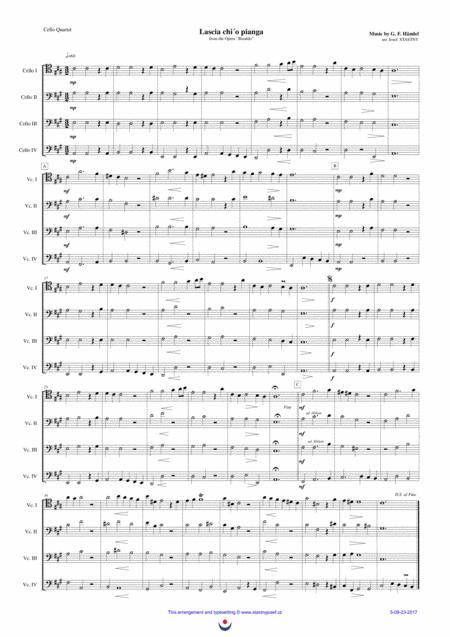Lascia ch´io pianga (Handel)
