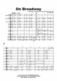 On Broadway - George Benson - funky - Saxophone Ensemble