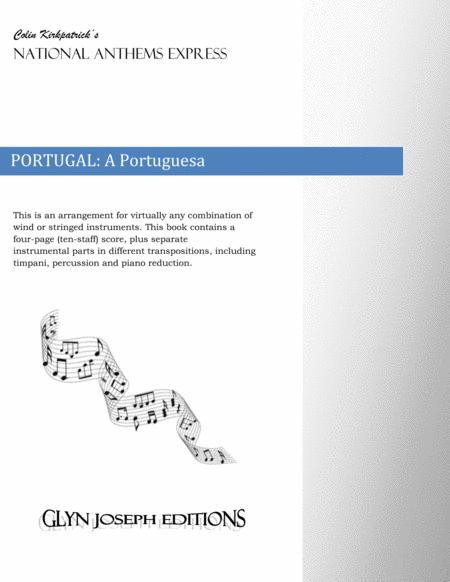 Portugal National Anthem: A Portuguesa