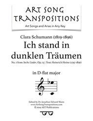 Ich stand in dunklen Träumen, Op. 13 no. 1 (D-flat major)