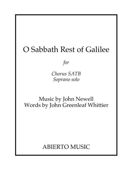 O Sabbath Rest of Galilee