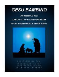 Gesu Bambino (Duet for Soprano and Tenor Solo)