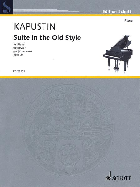 Suite in the Old Style op. 28