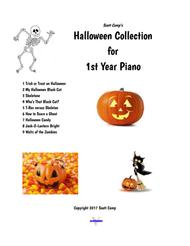 Best Halloween Collection for First Year Piano