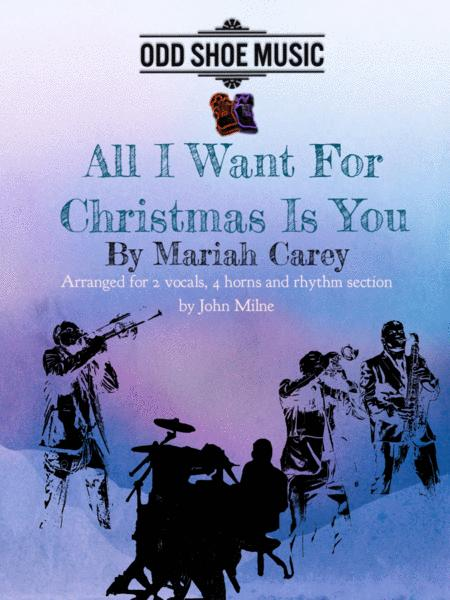 All I Want For Christmas Is You for soul band or jazz combo
