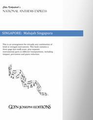 Singapore National Anthem:  Malujah Singapura (