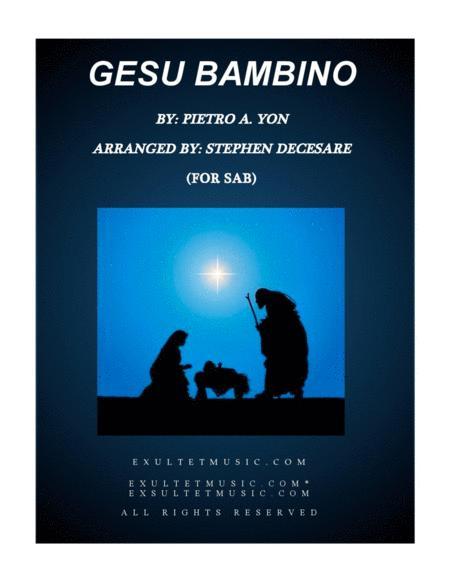 Gesu Bambino (for SAB)