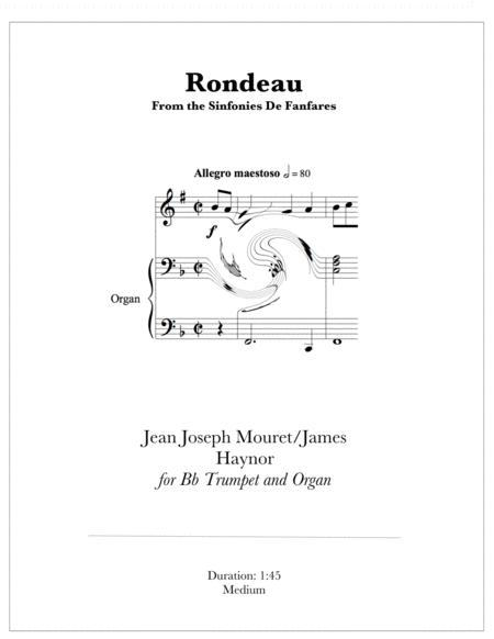 Rondeau for Trumpet and Organ