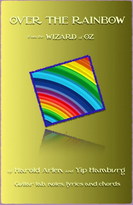 Download Over The Rainbow, Guitar Tab, Notes, Lyrics And Chords ...