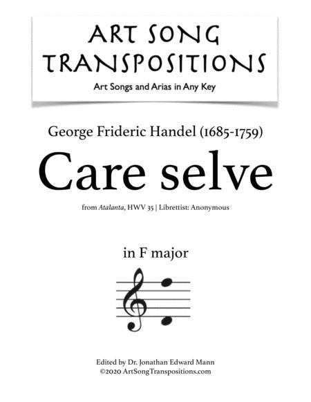 Care selve (F major)