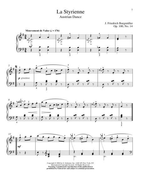 La Styrienne, Op. 100, No. 14