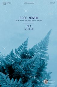 Ecce Novum (SATB)
