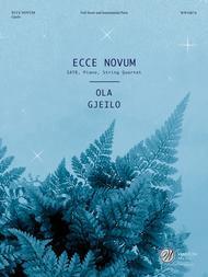 Ecce Novum (Full Score and Instrumental Parts)