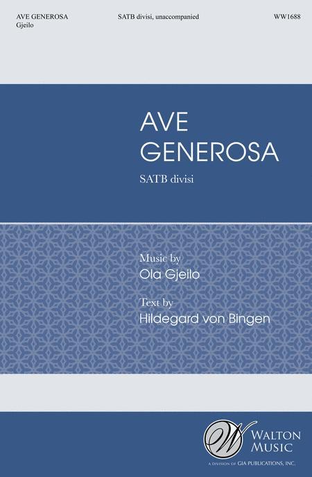 Ave Generosa (SATB)