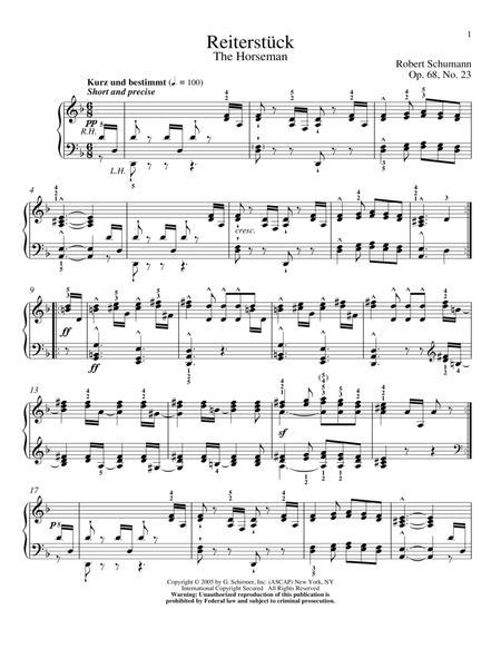 The Horseman, Op. 68, No. 23