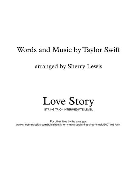 Love Story STRING TRIO (for string trio)
