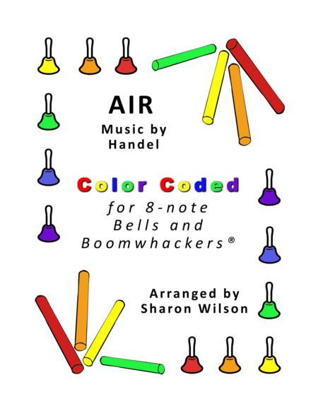 Air for 8-note Bells and Boomwhackers® (with Color Coded Notes)