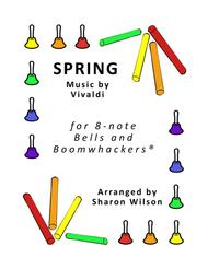 Spring for 8-note Bells and Boomwhackers® (with Black and White Notes)