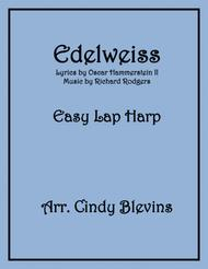 Edelweiss, arranged for Easy Lap Harp Solo
