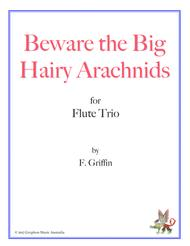 Beware the Big Hairy Arachnids for Flute Trio