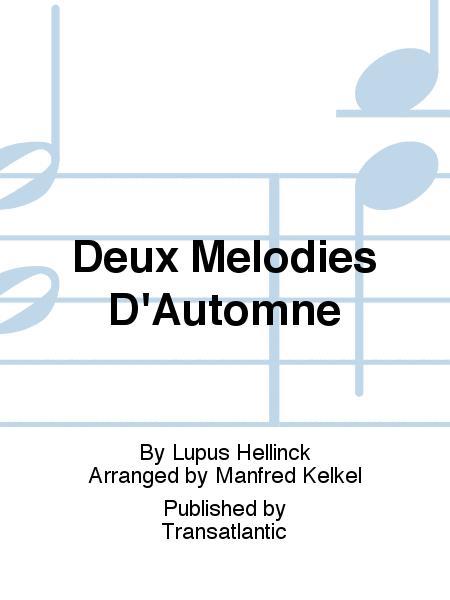 Deux Melodies D'Automne