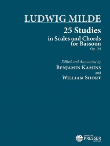 25 Studies in Scales and Chords for Bassoon