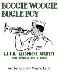 Boogie Woogie Bugle Boy (Sax Quartet)