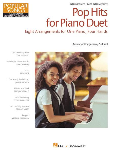 Pop Hits for Piano Duet - Popular Songs Series